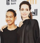 Maddox & Angelina Jolie