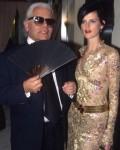 Karl Lagerfeld (†85) 8 Stella Tennant