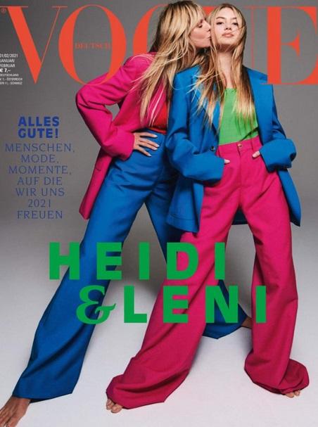 Heidi Klum & Leni Briatore