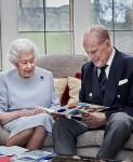 Elizabeth II & princas Philip