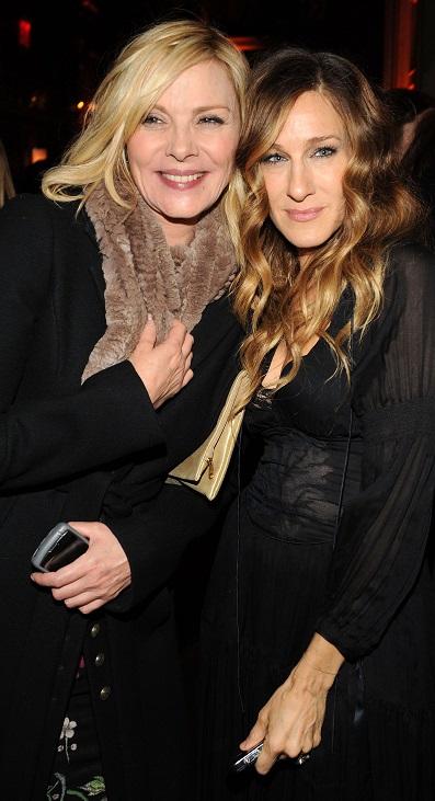 Kim Cattrall & Sarah Jessica Parker