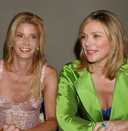 Candace Bushnell & Kim Cattrall