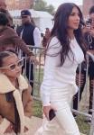 North & Kim Kardashian