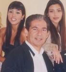 Kourtney, Robert & Kim Kardashian