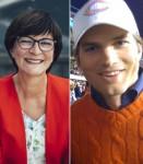 Saskia Esken (SPD) / Ashton Kutcher
