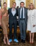 Hailey & Justin Bieber, Emmanuel & Brigitte Macron
