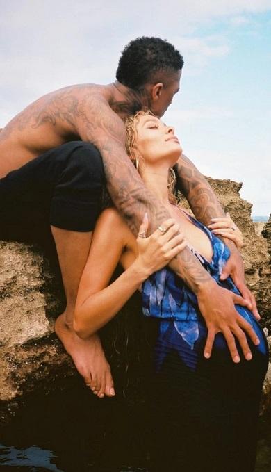 Nick Cannon & Alyssa Scott