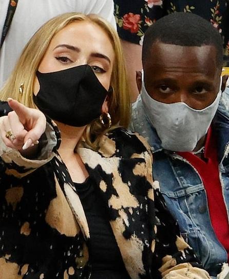 Adele & LeBron James