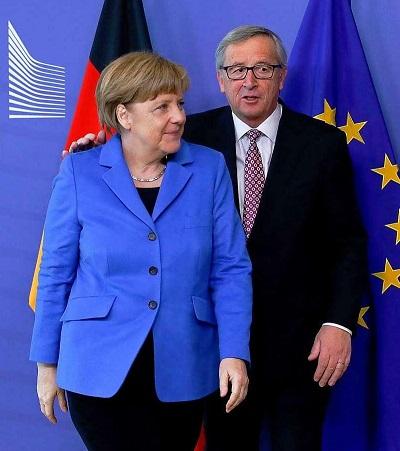 Angela Merkel & Jean-Claude Juncker