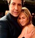 David Schwimmer & Jennifer Aniston