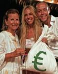 Claudia Obert (59), Loona & Andrej Mangold (34)