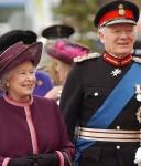 Elizabeth II & Timothy Colman