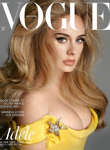 "Adele @ ""Vogue"""